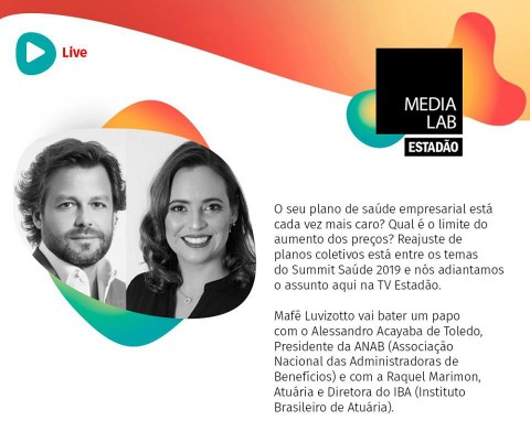 "ANAB PARTICIPA DA 2ª MESA REDONDA ""SUMMIT SAÚDE 2019"""