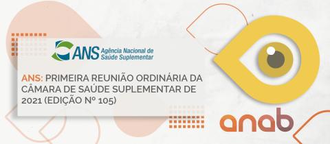 ANS: primeira reunião ordinária da Câmara de Saúde Suplementar de 2021 (edição nº 105)